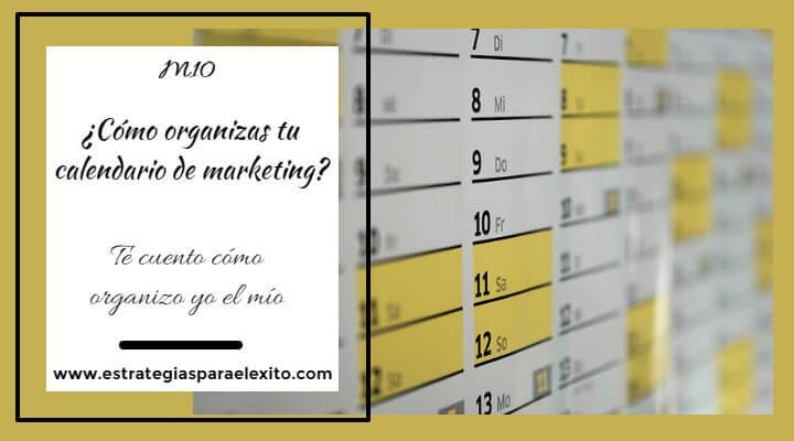 Imagen artículo ¿Cómo organizas tu calendario de marketing ?