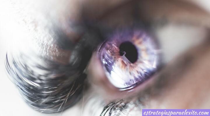 Imagen de un ojo símbolo de análisis de la competencia