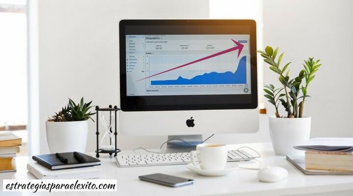 Imagen de un escritorio del episodio diseña un plan de ventas eficaz