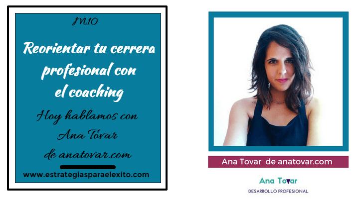 reorientar tu carrera profesional con Ana Tovar