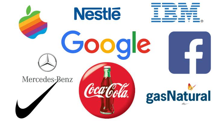 imagen de logotipos famosos del artículo verdades y mentiras sobre diseño gráfico