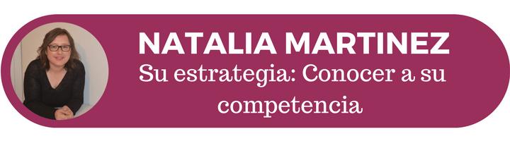 Natalia Martinez y su estrategias de marketing