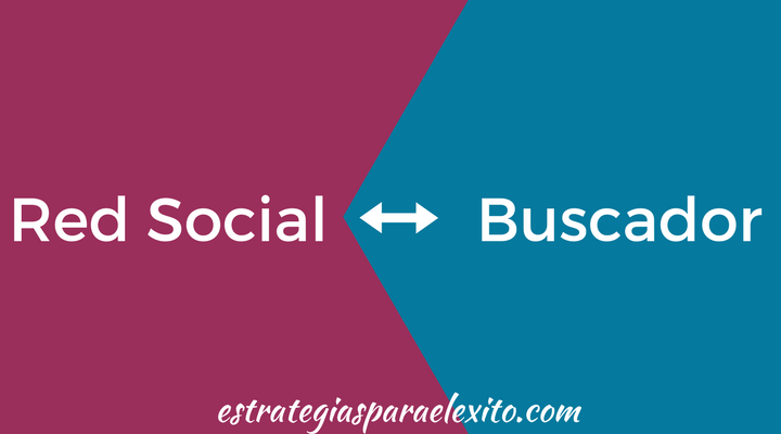 Diferencia entre Red Social y Buscador