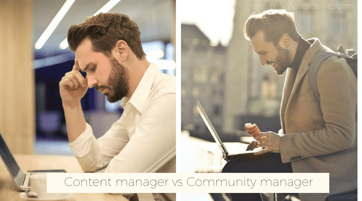 Content manager vs community manager