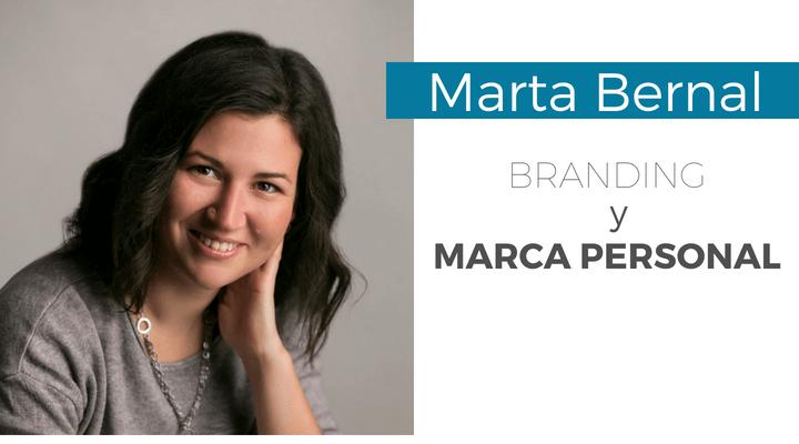 Branding y marca personal con Marta Bernal