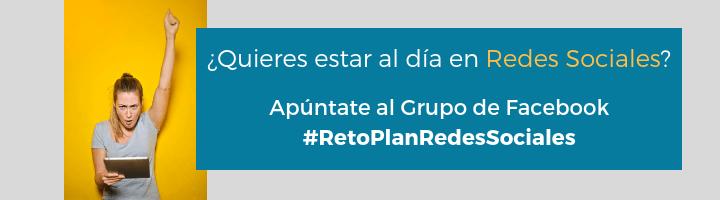 #RetoPlanRedesSociales