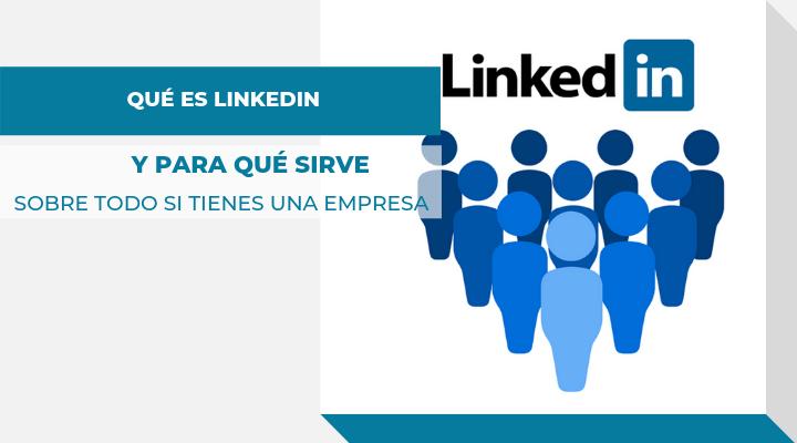 Imagen de logo de Linkedin como portada del artículo Qué es LinkedIn