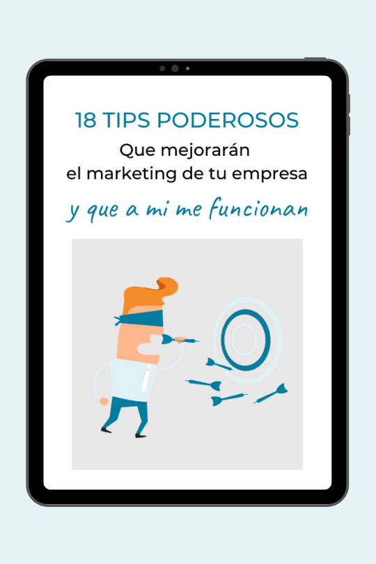 18 tips de marketing, Mónica Diez