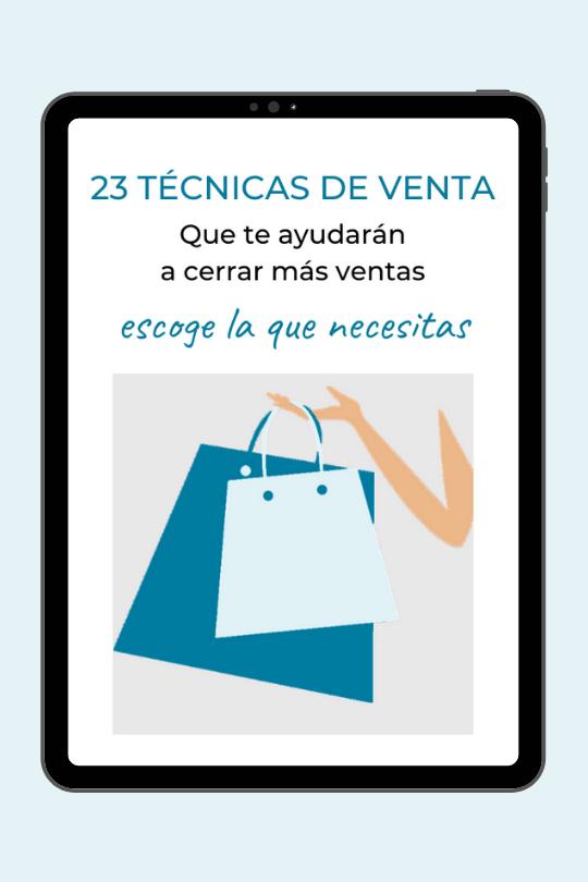 23 técnicas de venta, Mónica Diez