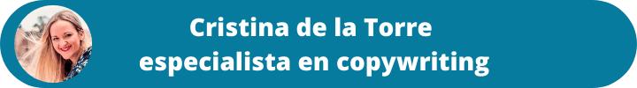 Pilares del copywriting con Cristina de la Torre